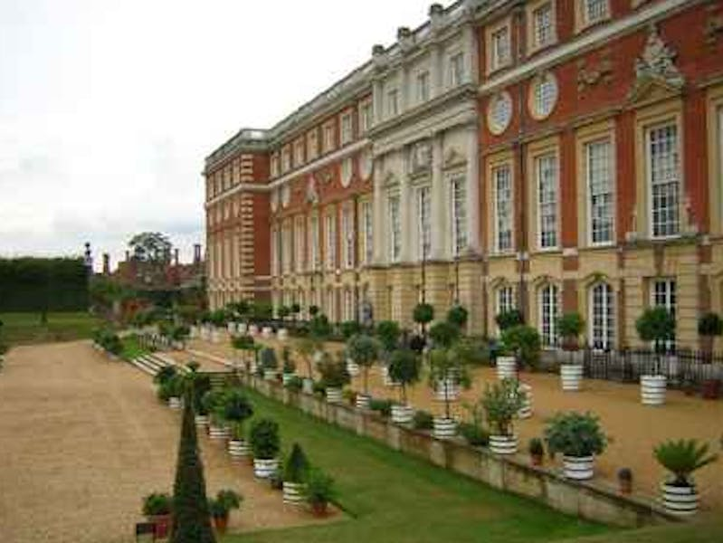 Photo of Marquees: The Palace Grounds and Courtyard at Hampton Court Palace