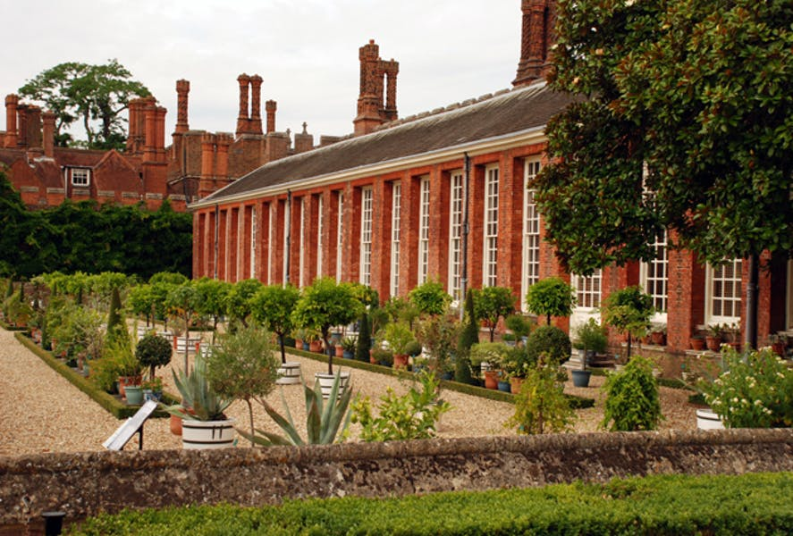 Photo of The Orangery and Privy Gardens at Hampton Court Palace