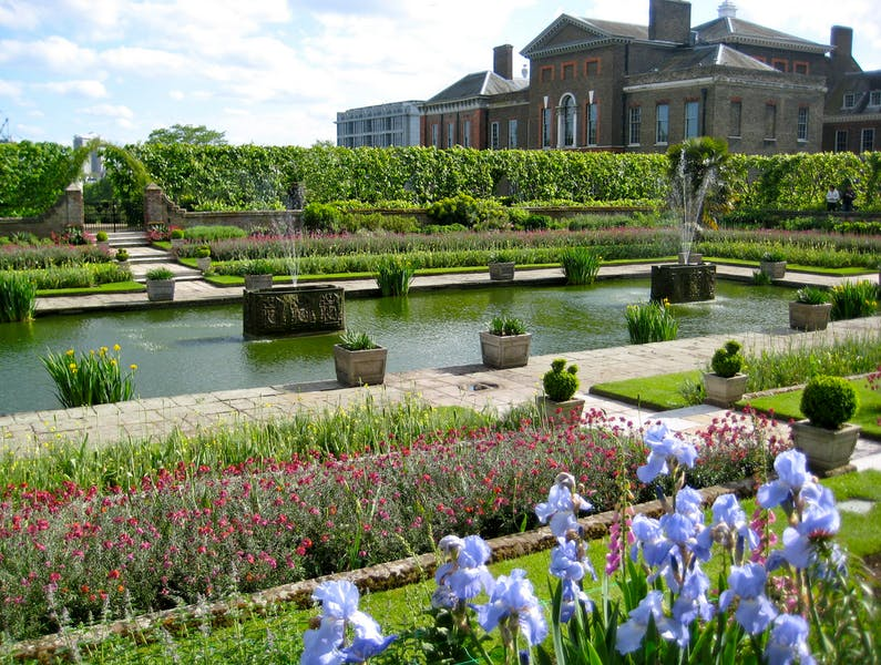 Photo of Sunken Garden at Kensington Palace