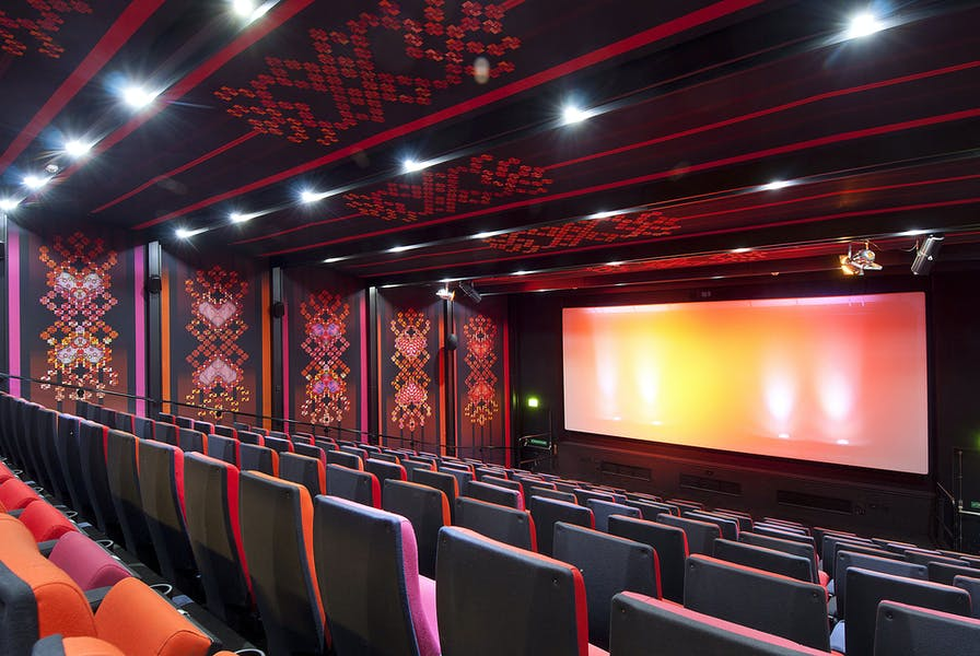 Photo of Boutique Cinema Screens at Rich Mix