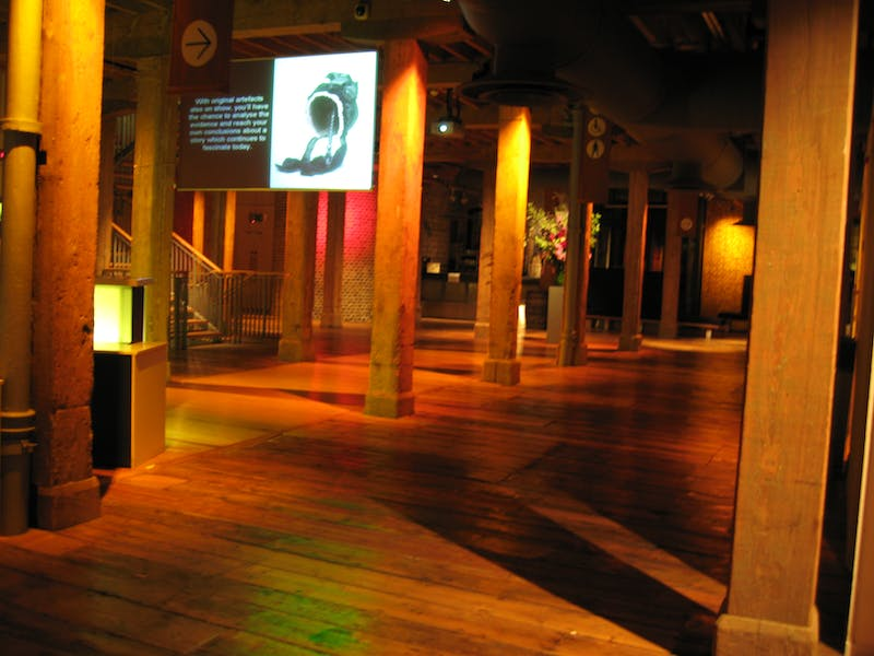 Photo of Muscovado Hall at Museum of London Docklands