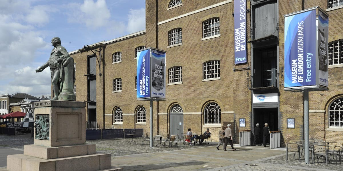 D Exhibition Docklands : Hire museum of london docklands