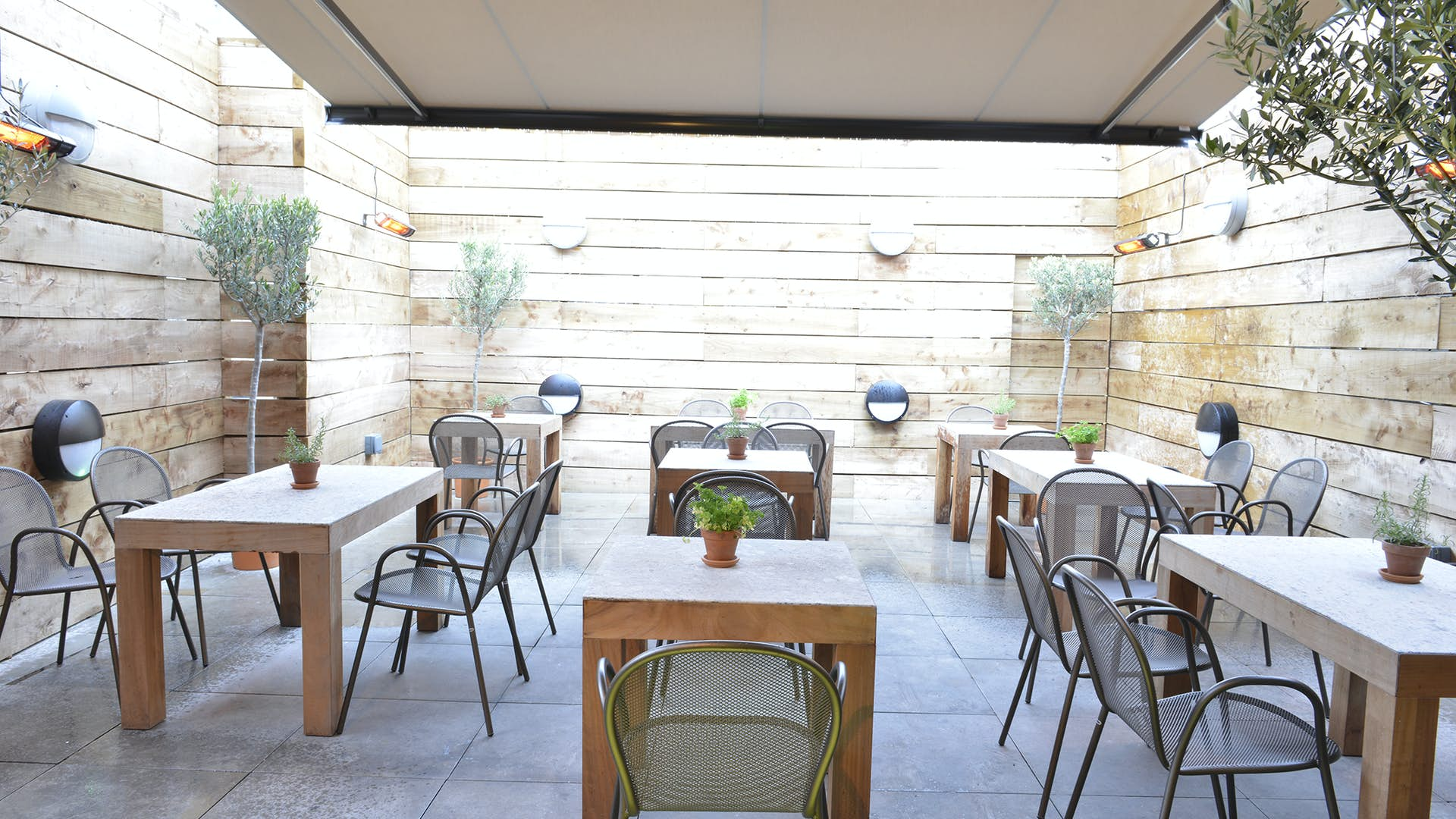 Roof Terrace | Events Hire | Vivo