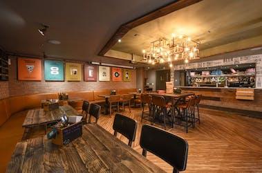 Hire Space - Venue hire The Mezzanine Room at Tank & Paddle Bishopsgate