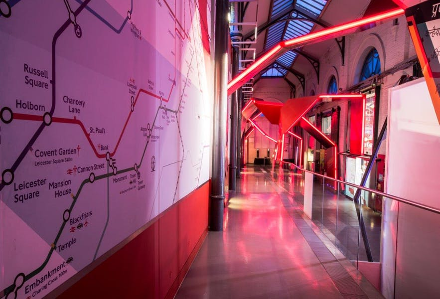 Photo of Museum Galleries at London Transport Museum