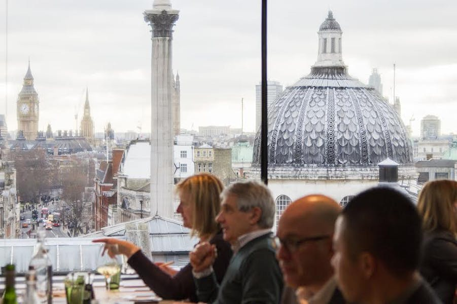 Photo of The Portrait Restaurant at National Portrait Gallery