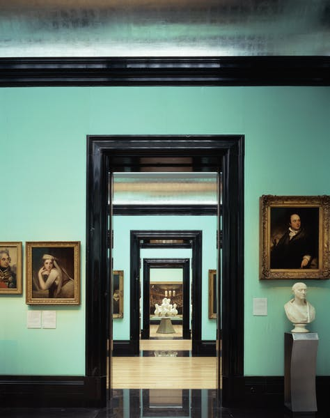 Photo of Regency in the Weldon Galleries at National Portrait Gallery