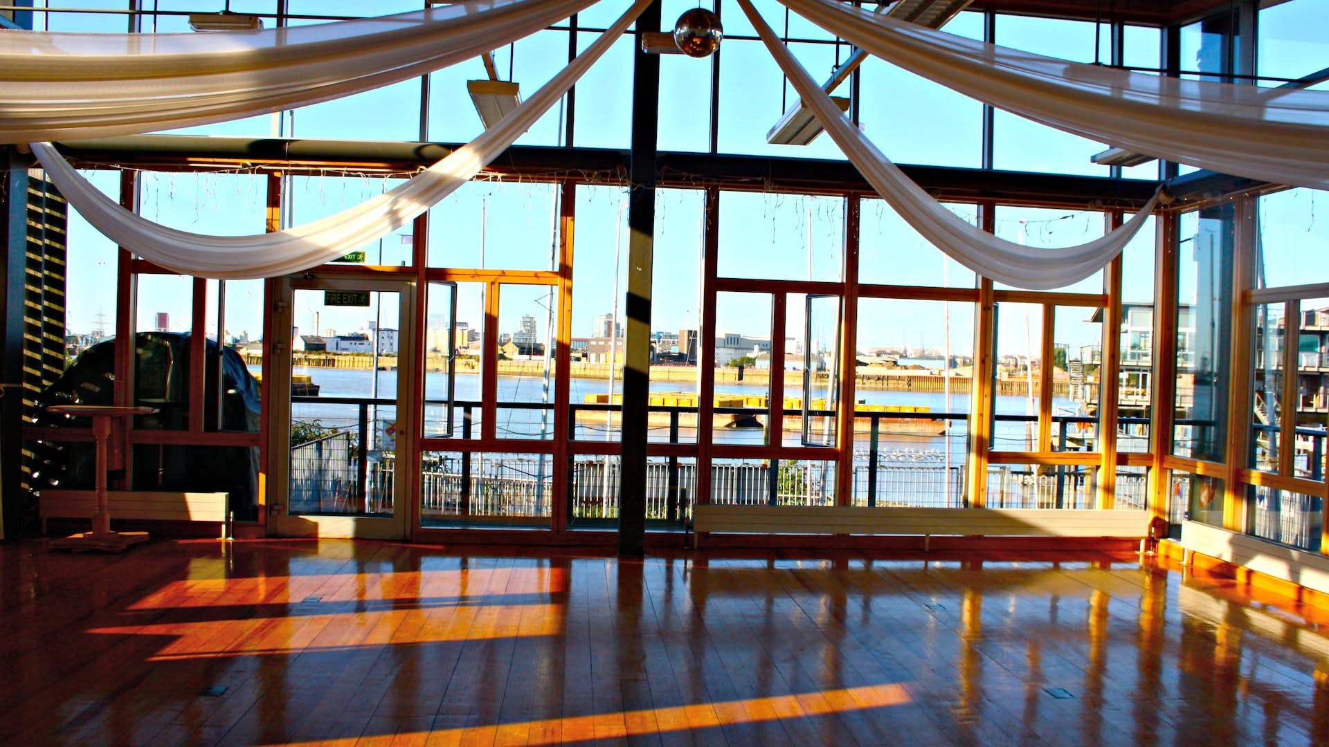 The River Rooms Events Hire Greenwich Yacht Club