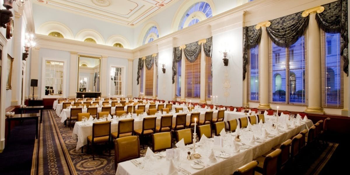 Hire city of london club for Q dining room london