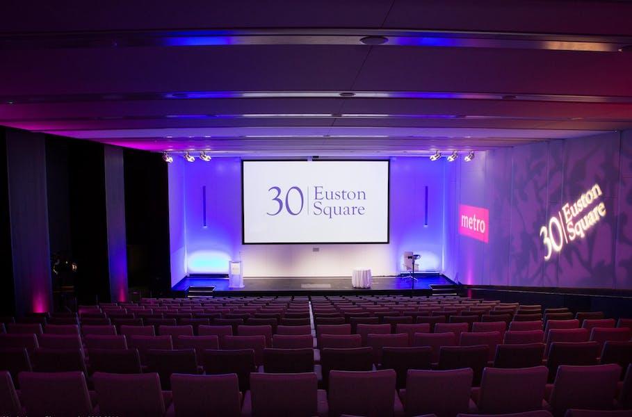 Photo of Auditorium & Exhibition Space at 30 Euston Square