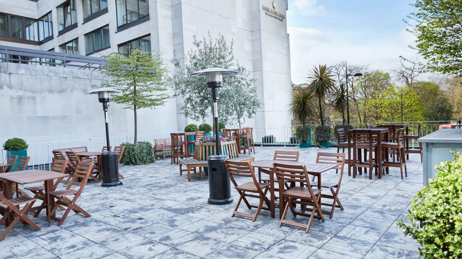 Argyll room and terrace events no 4 hamilton place for 63 hamilton terrace