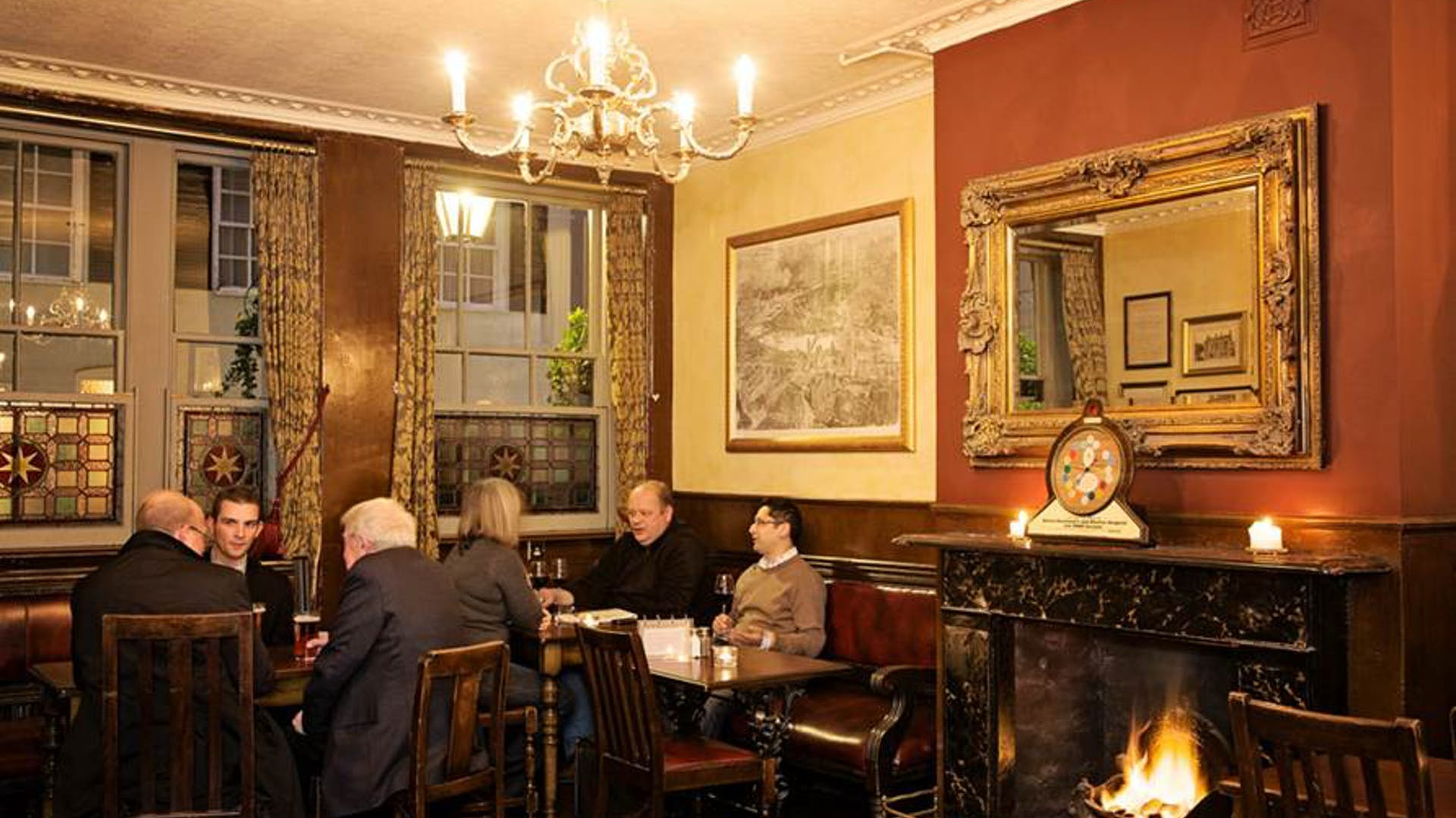 Dining room events hire the star tavern for Q dining room london
