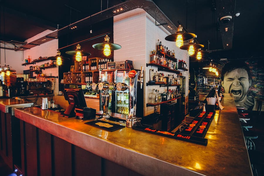 Photo of Bar Area at Sink