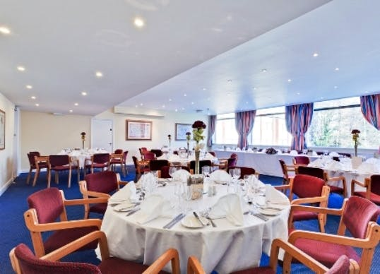 calthorpe suite events hire plough and harrow hotel large modern dining room chandeliers large modern dining room table