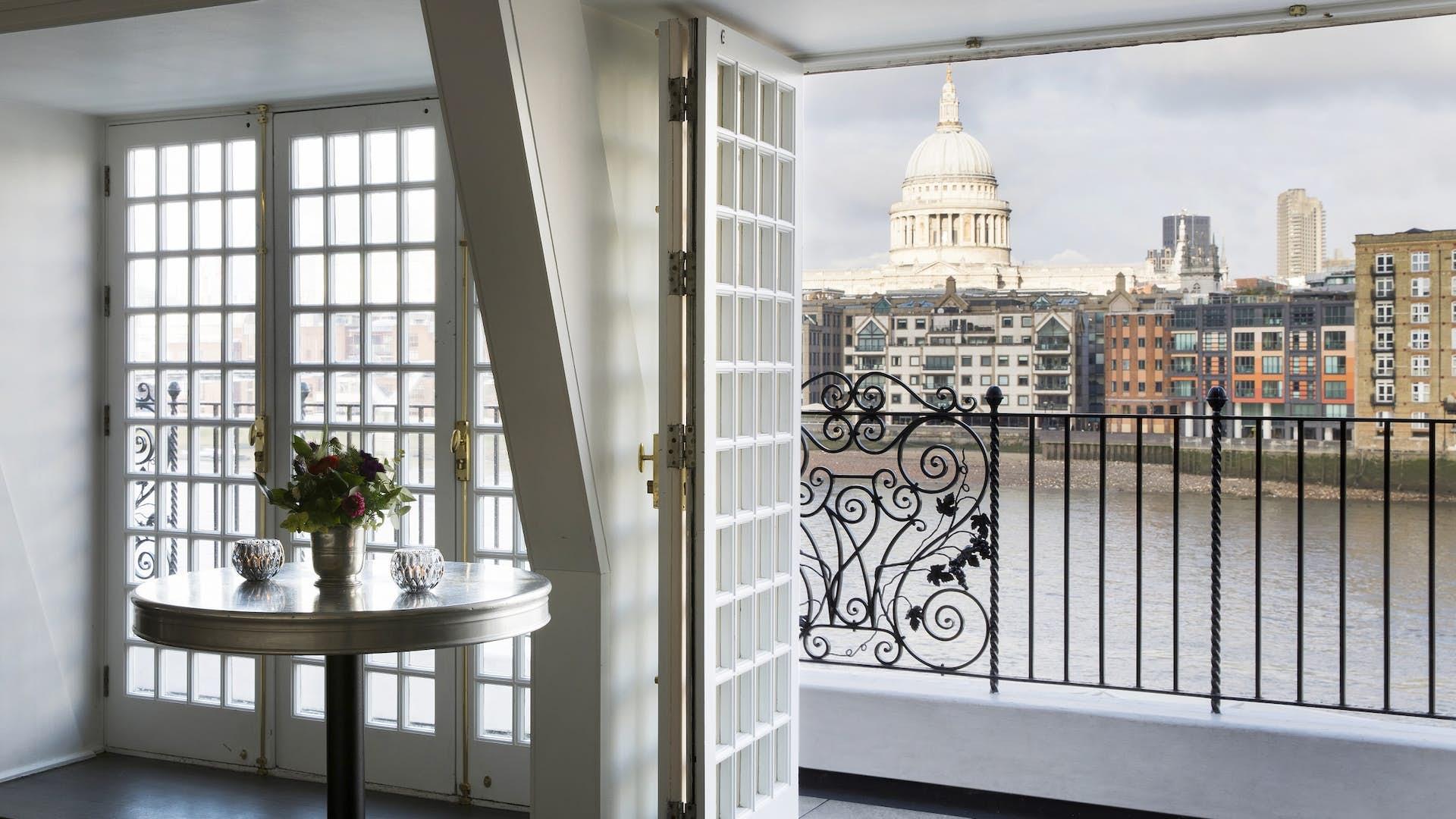 The Balcony Room, Shakespeare's Globe
