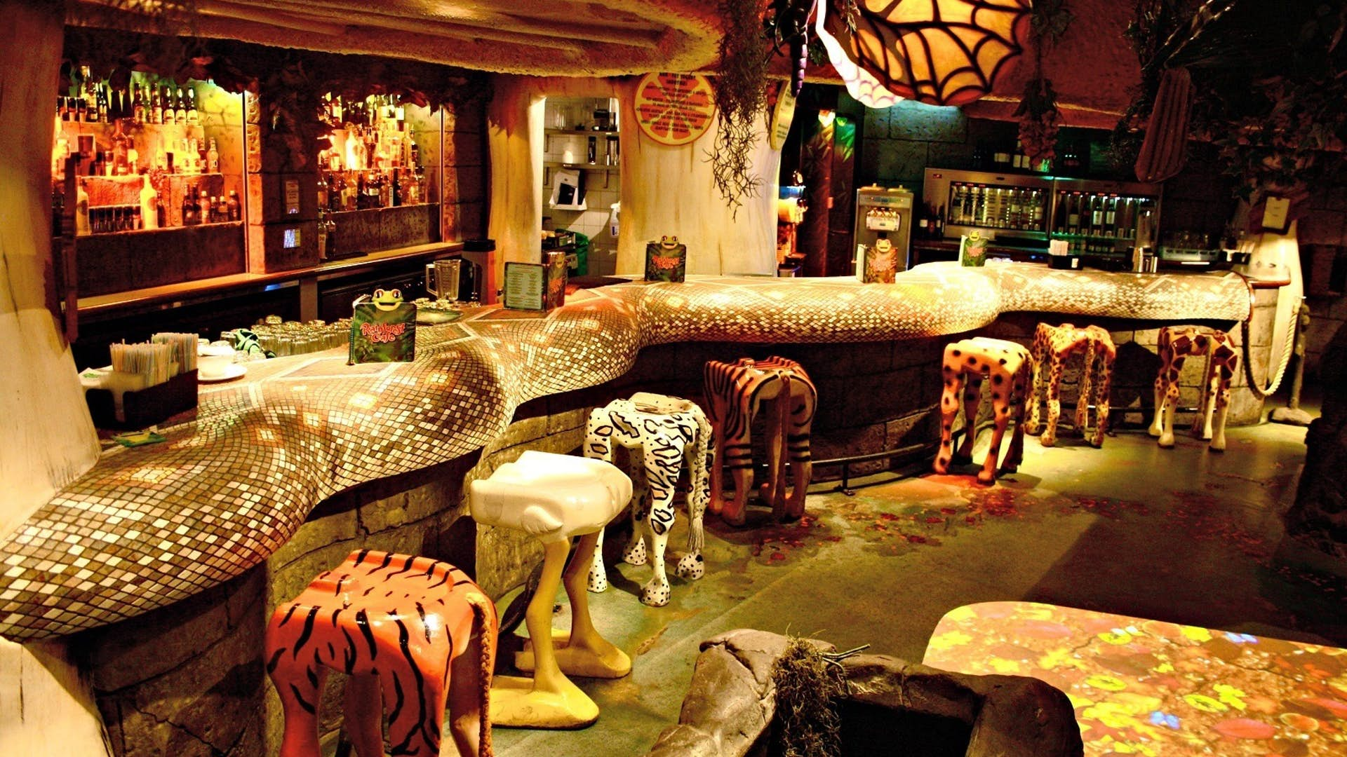 Butterfly room events hire rainforest cafe for Rainforest londra