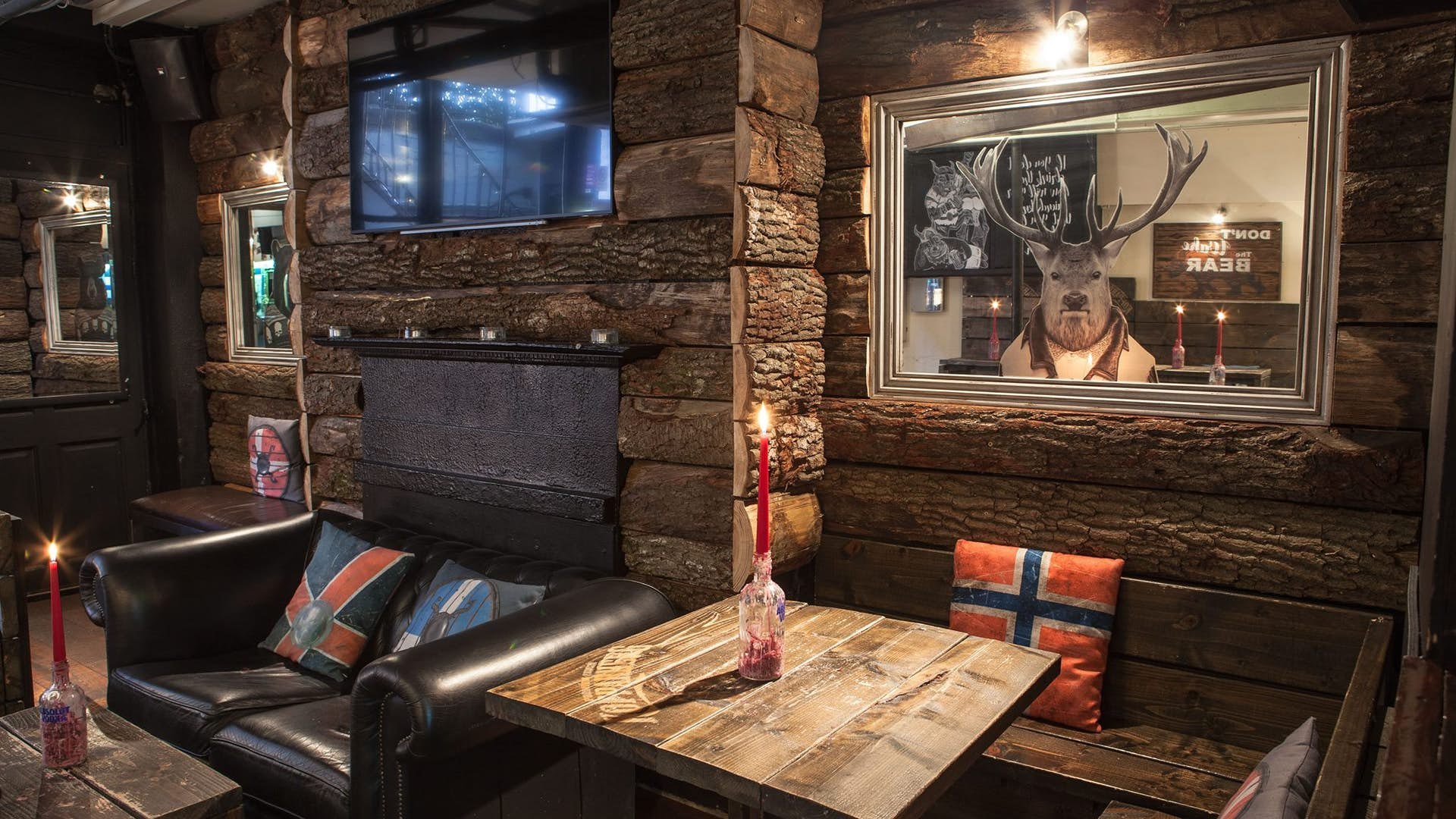The Lodge Events Hire Nordic Bar