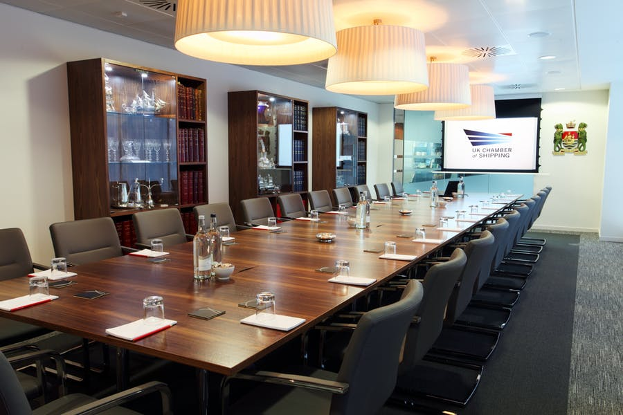 Photo of Boardroom at UK Chamber of Shipping