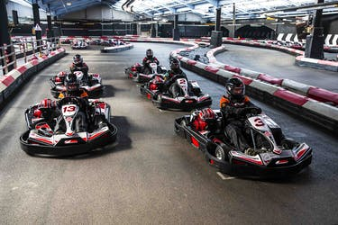 Hire Space - Venue hire Karting Track at TeamSport Docklands