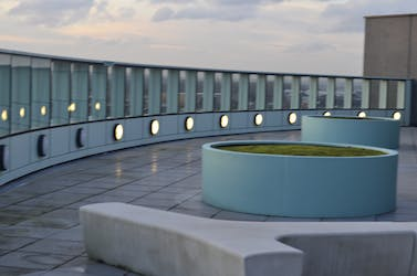 Hire Space - Venue hire Roof Terrace at Chobham Academy