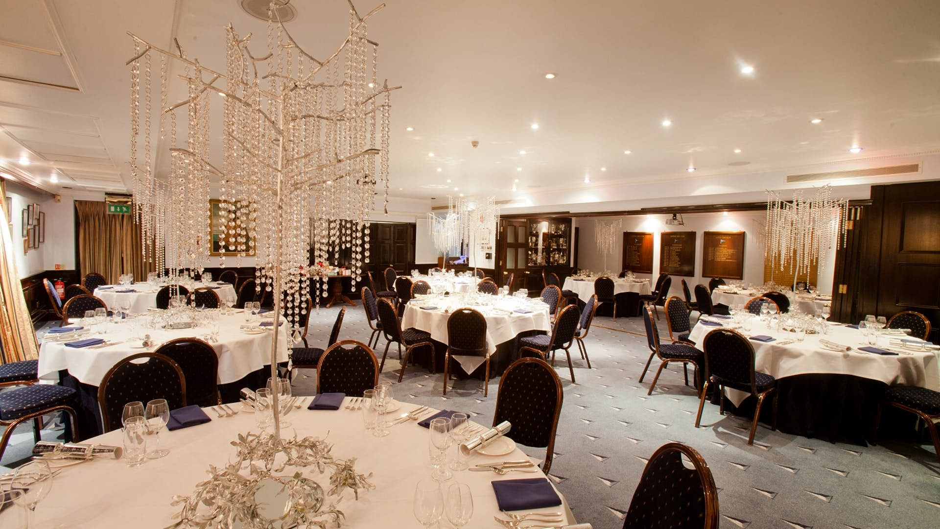 Dining room dining hire little ship club for Q dining room london