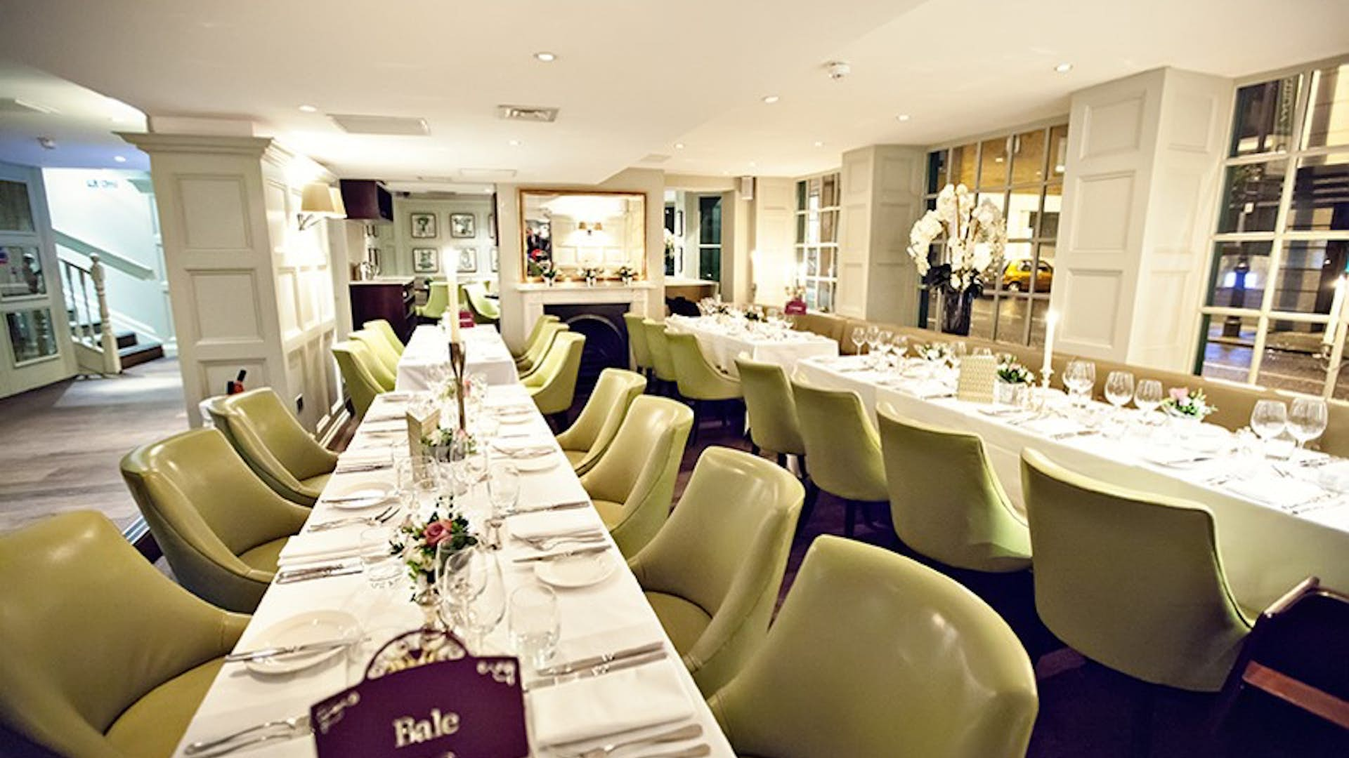 Weddings chiswell street dining rooms for Q dining room london