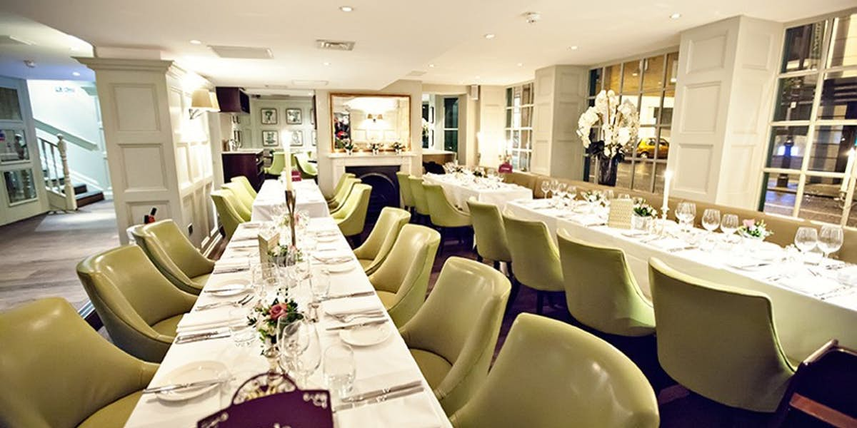 Hire chiswell street dining rooms for Q significa dining room
