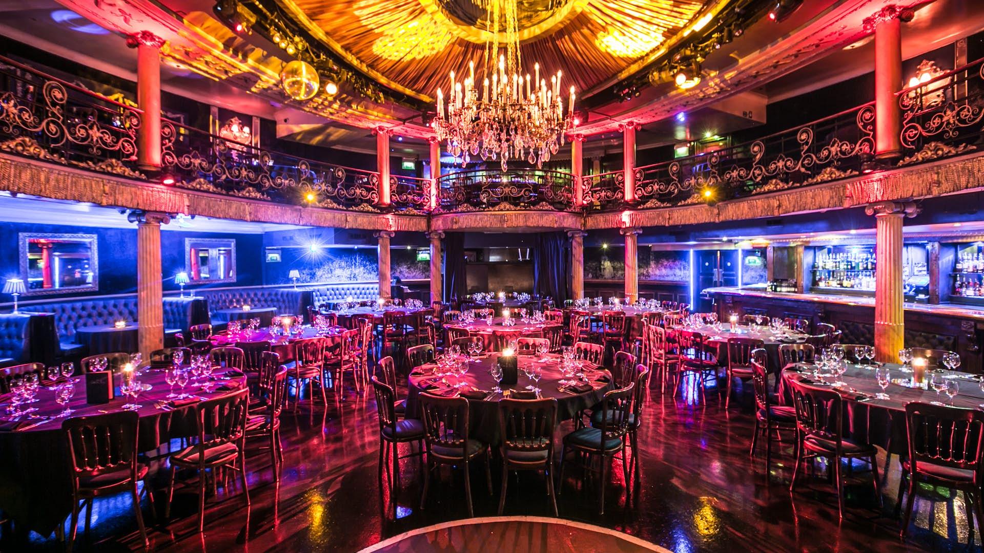 Whole Venue Dining Hire Cafe De Paris