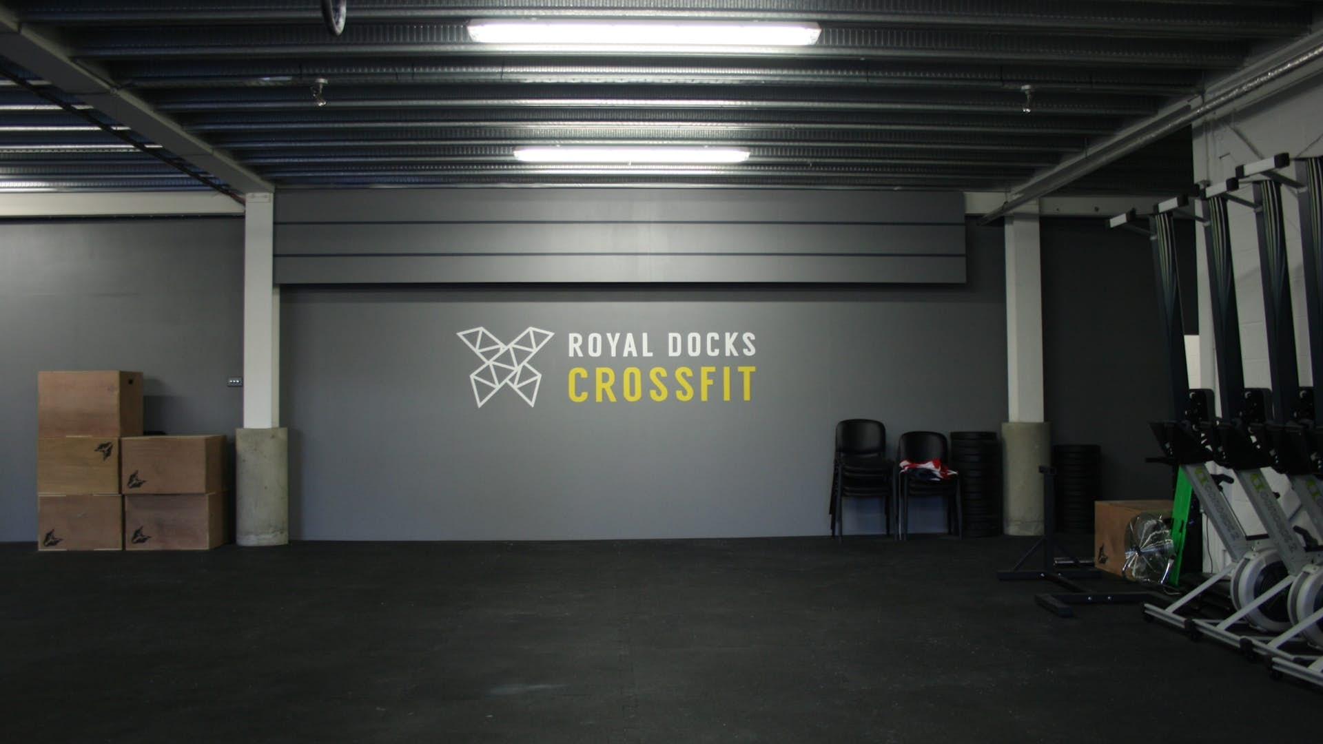 Large gym floor other hire royal docks crossfit